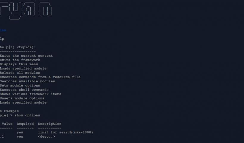 Maryam v1.3.1 OWASP Maryam Framework for web application