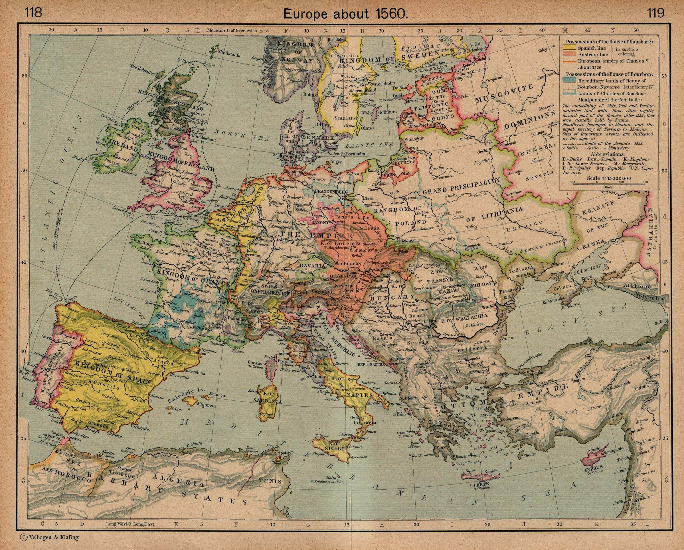 Europe And The Old Nationalisms Part 1 Mapa Historico Mapas