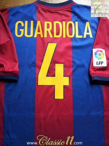 comprar original elegante en estilo Zapatos 2018 Relive Josep Guardiola's 1998/1999 La Liga season with this ...