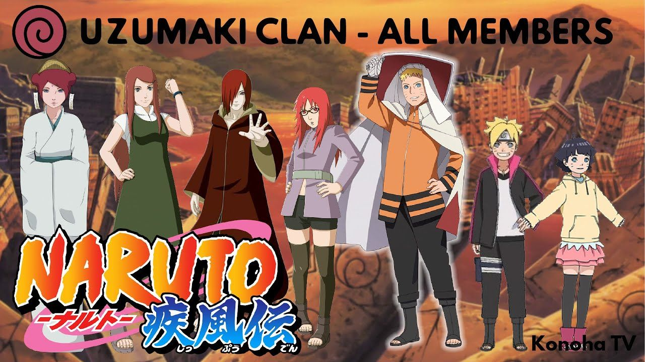Remaining Uzumaki Clan - The Uzumaki Clan