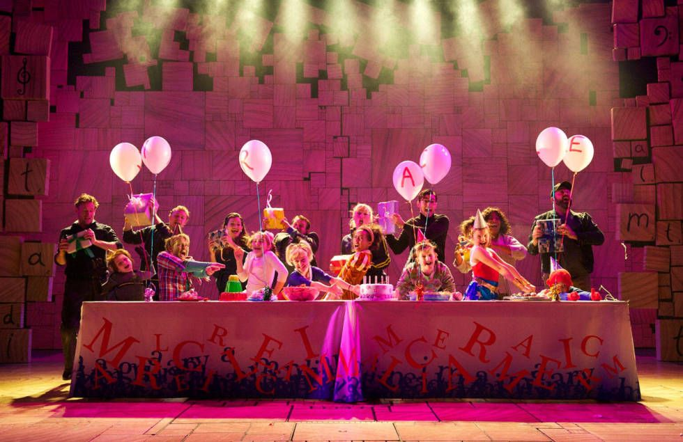 Composer Tim Minchin - Matilda Broadway Production