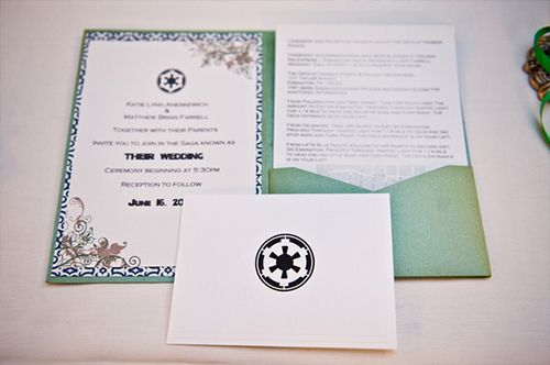 star wars wedding invitation - inspiration for mobella events, www, Wedding invitations