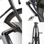 Coren carbon fiber bike designed by UBC