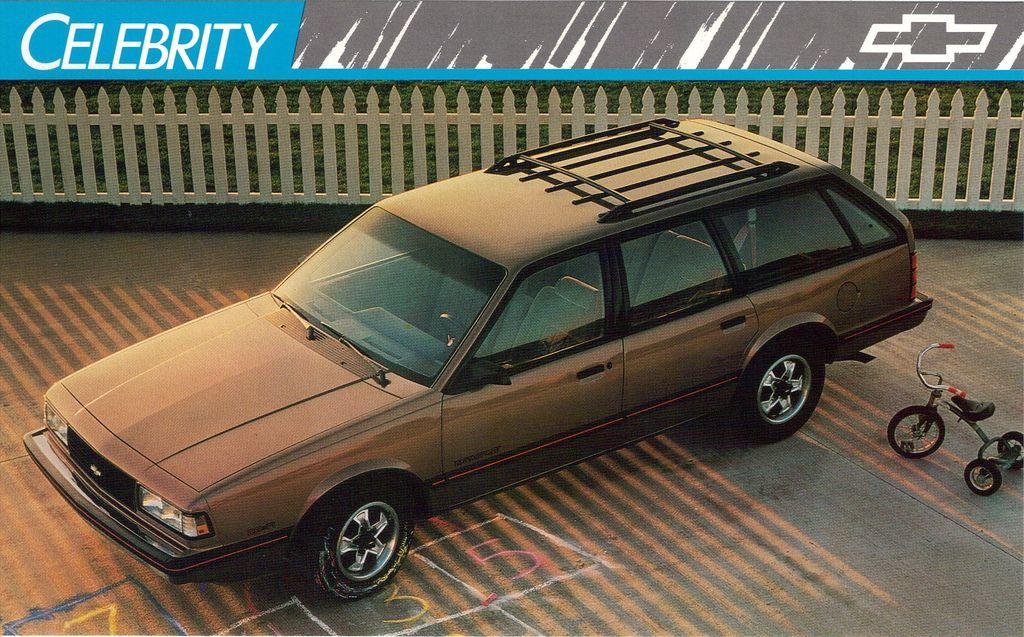 1989 Chevrolet Celebrity Eurosport Station Wagon Station Wagon
