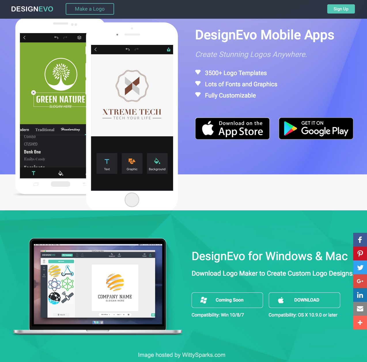 Designevo Desktop Mobile Apps Mobile App App Web Development Software