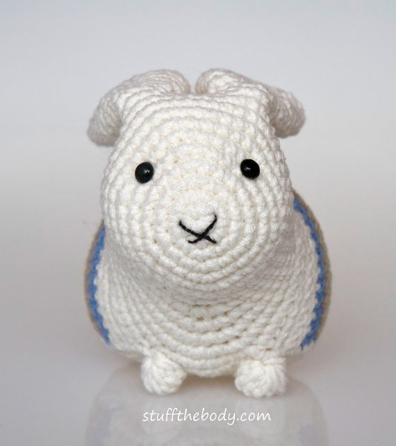 Easter Bunny Amigurumi Pattern, Easter Crochet Pattern, rabbit ...