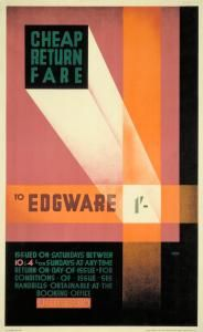 A Cheap return fare to Edgware 1929