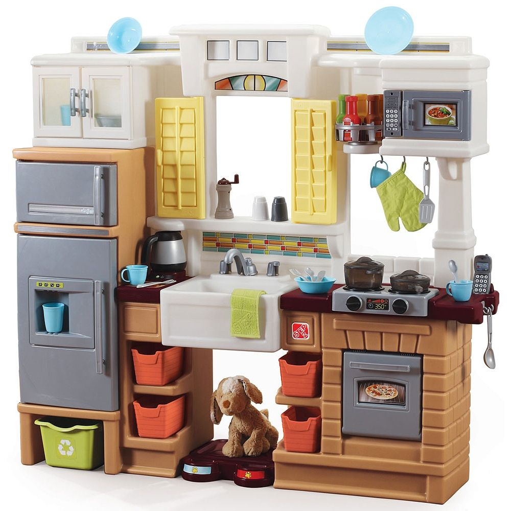 Toys R Us Kitchens Aluminum Kitchen Cabinets Step2 Creative Cooks Step 2 Play Time