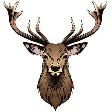 realistic bulldog tattoo idea deer head tattoo head tattoos and rh pinterest ca deer head tattoos pictures deer head tattoo meaning