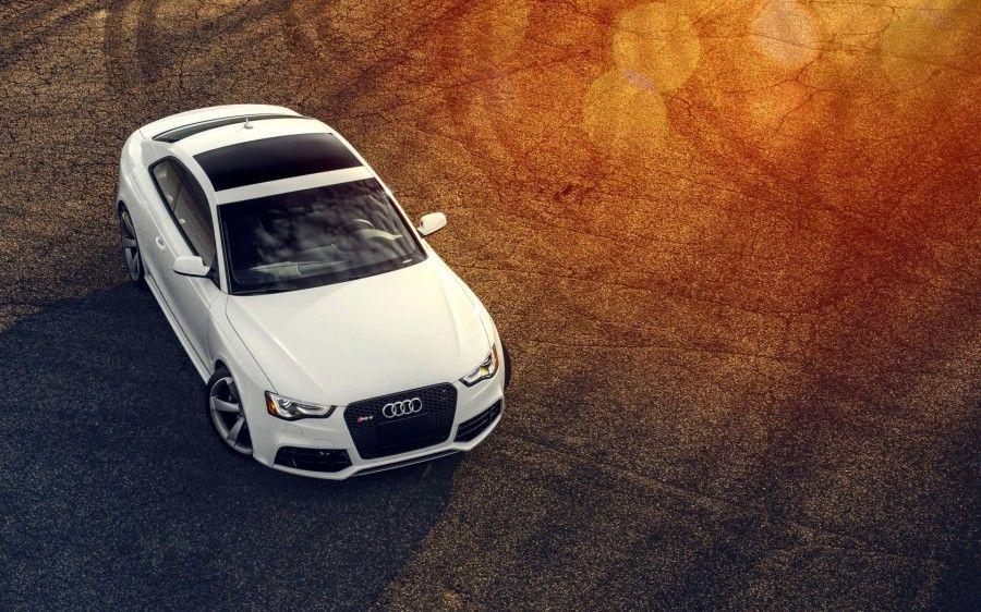 Audi Rs5 White Aerial View Desktop Wallpaper Audi S5 Audi Rs5 Audi
