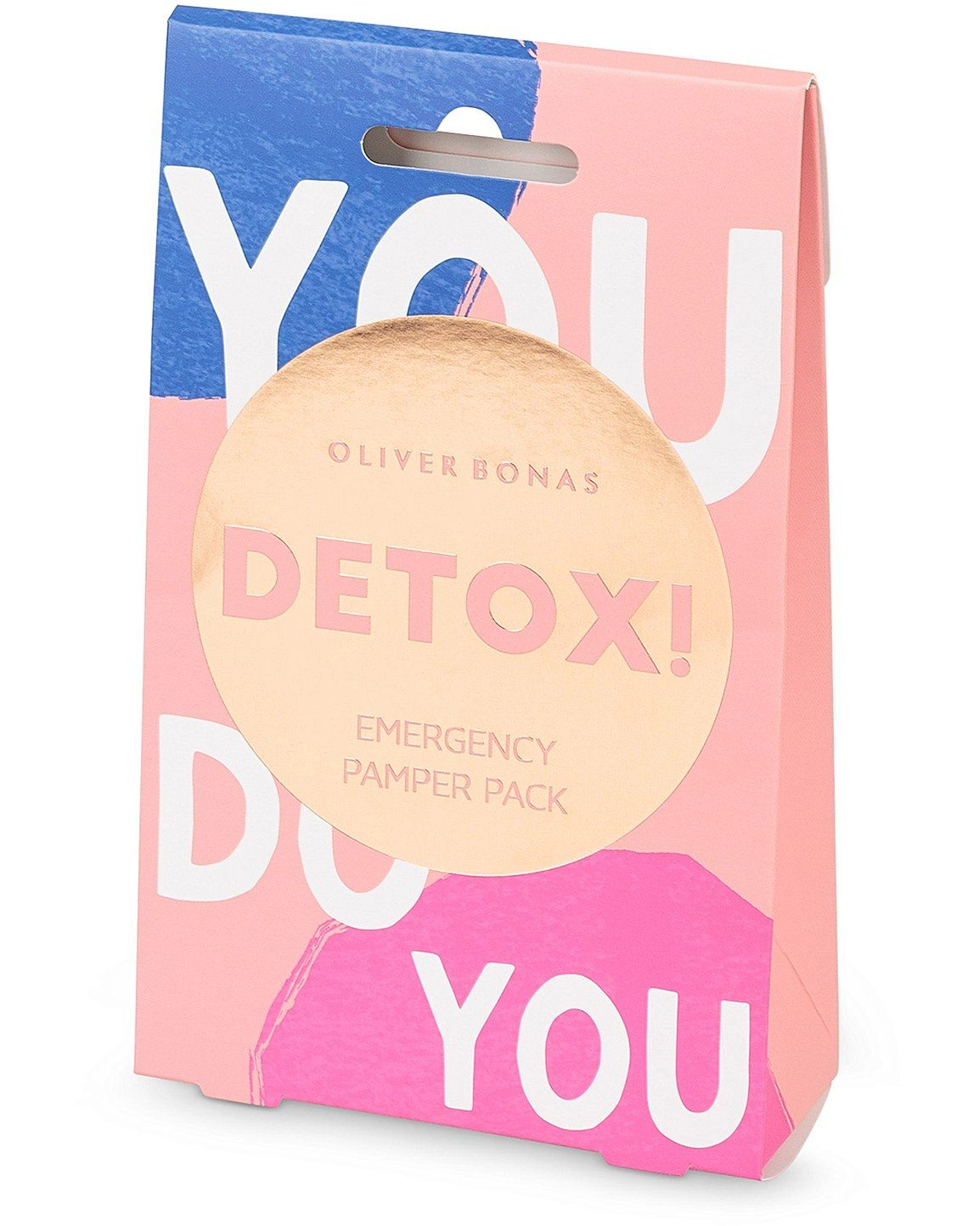 You Do You Detox Pamper Pack Aloe vera face mask, Detox