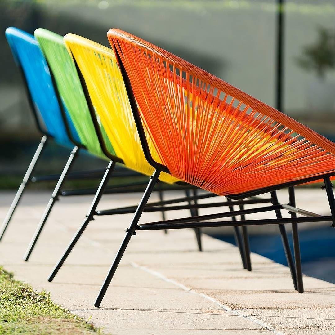 A splash of Summer! 'JOY' Chairs. #summer #happysummer