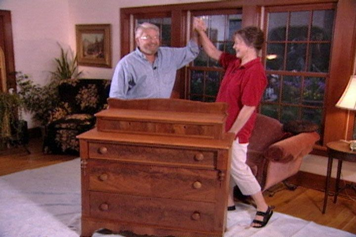 How To Stain And Finish An Antique Dresser