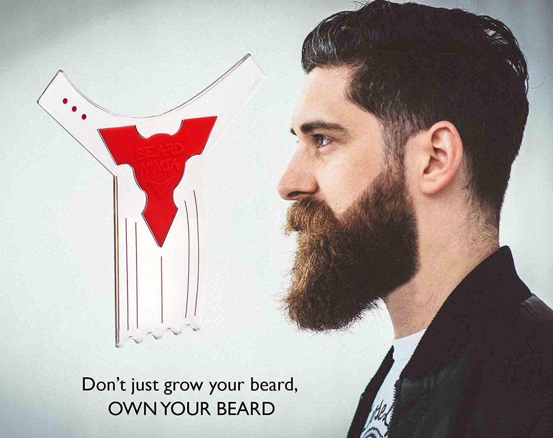 Dress up tie on long beards