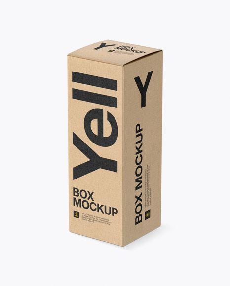 6481+ Kraft Box Mockup Free Download for Branding
