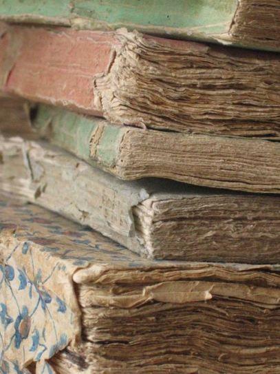 Old Books - sensory overload.
