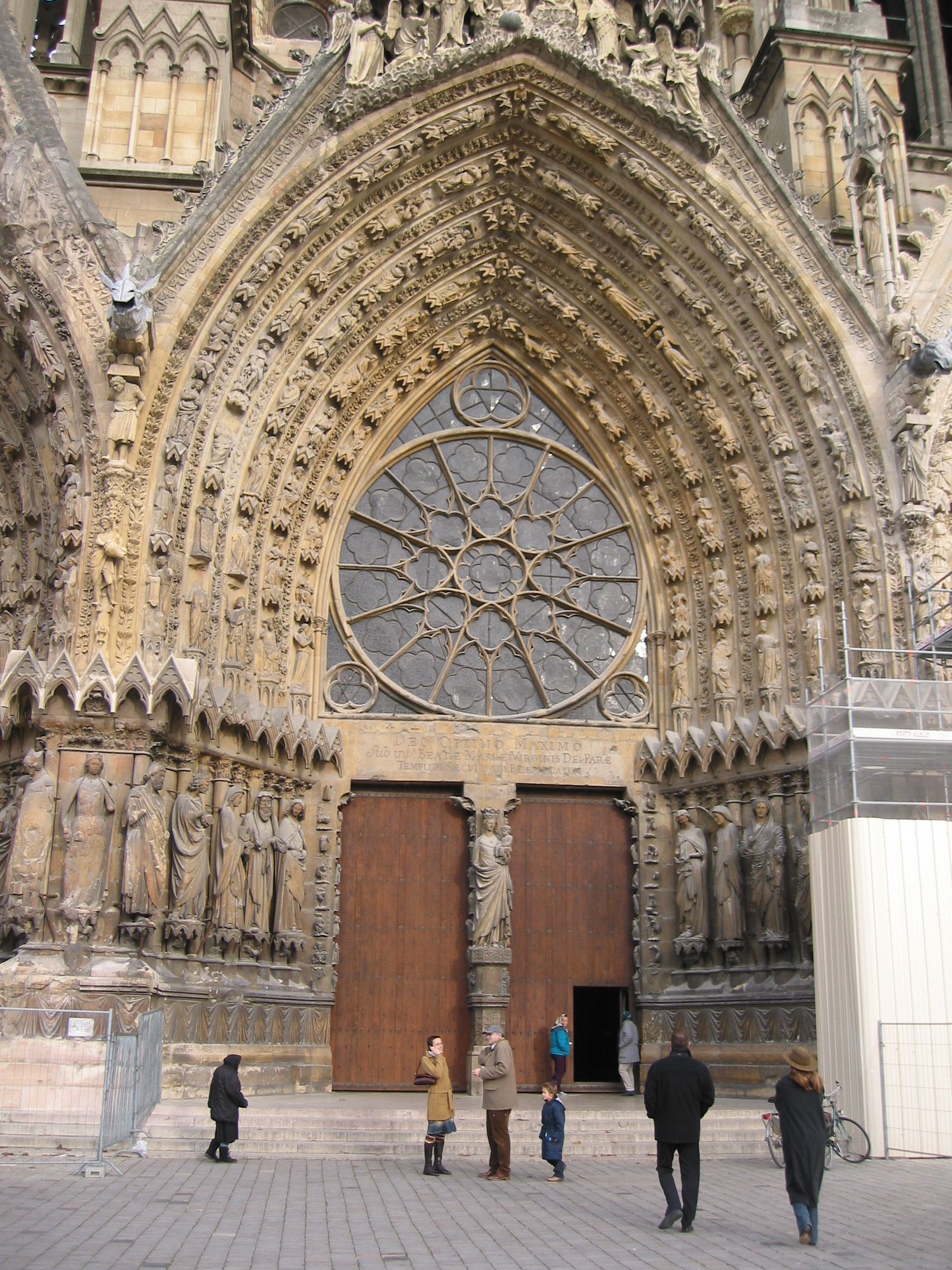 Captivating Reims Cathedral Main Portal