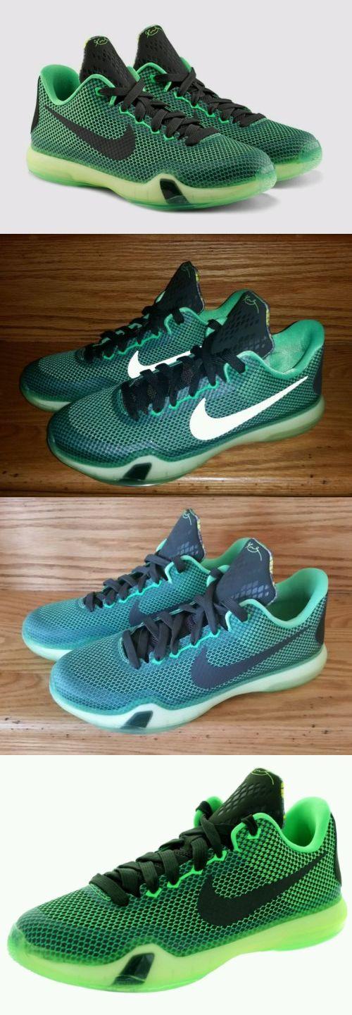 Youth 158973: Nike Kobe X 10 Vino Gs Basketball Youth Us 5.5 Poison Green  726068
