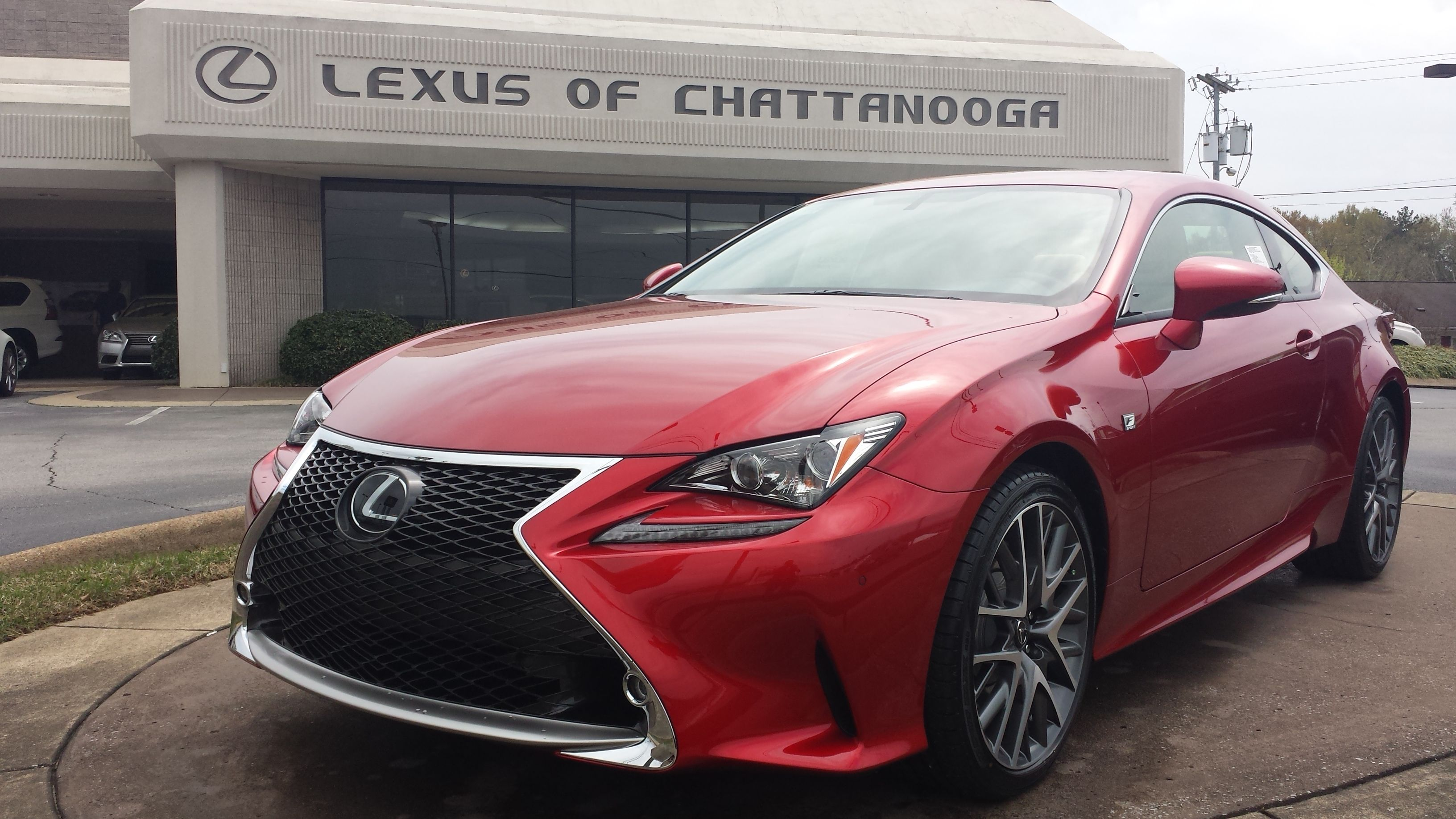 Check out this sick Lexus RC and all our other FSport