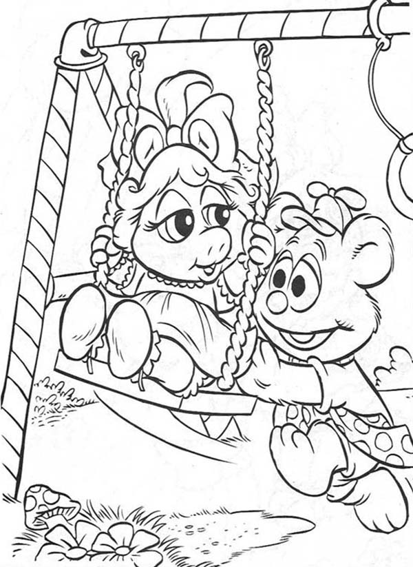 Picture Of Muppet Babies Coloring Pages Bulk Color Coloring Pages Baby Coloring Pages Halloween Coloring Pages