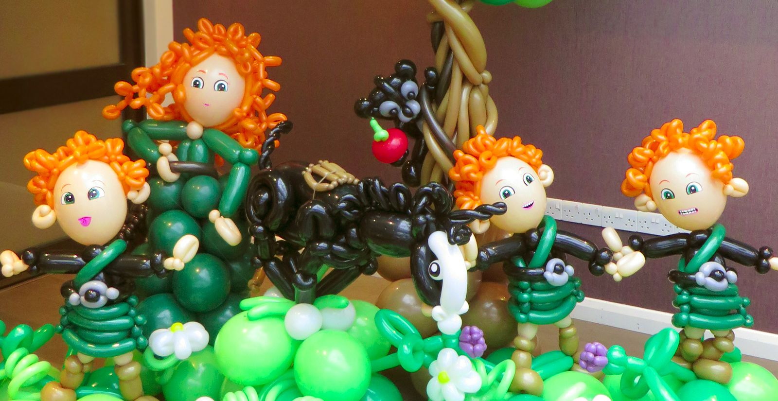 Brave themed party balloons party balloons balloons