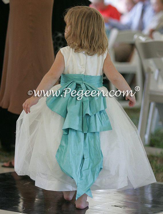 Pegeen.com Flower Girl Dress Style 394 in by PegeenChildrenswear ...