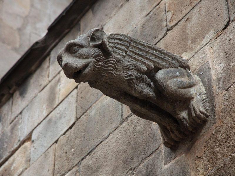 Gàrgola de la catedral de Barcelona