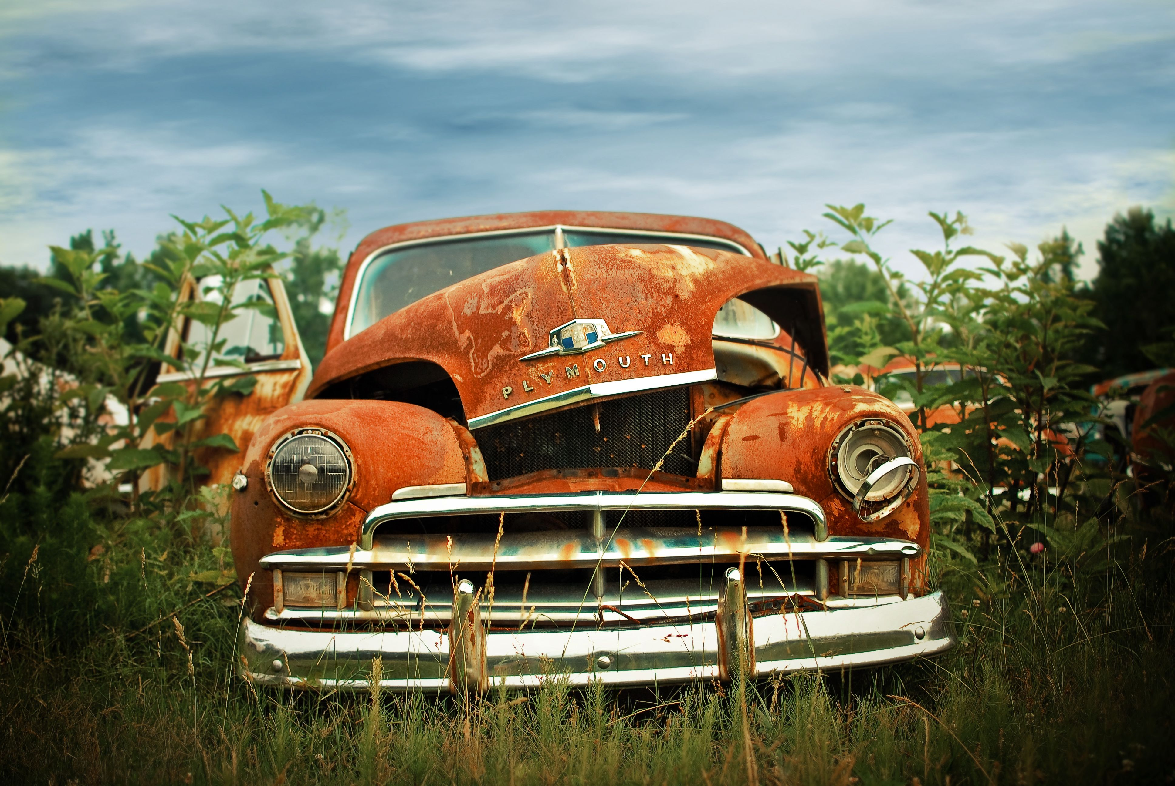 Character | Rust, Plymouth and Cars