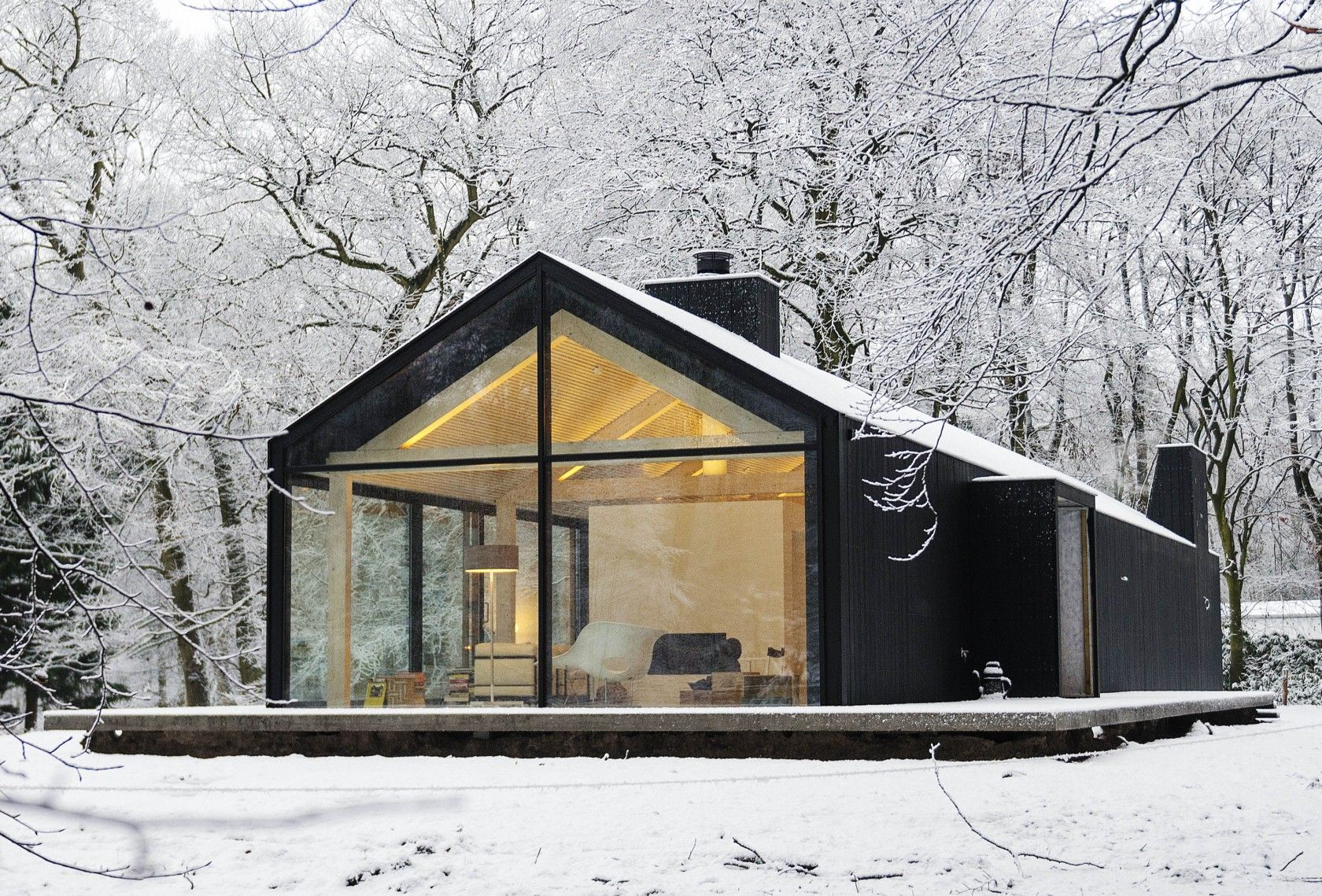 Design Inspiration: Modern Cabin Love #cabinlove #architecture