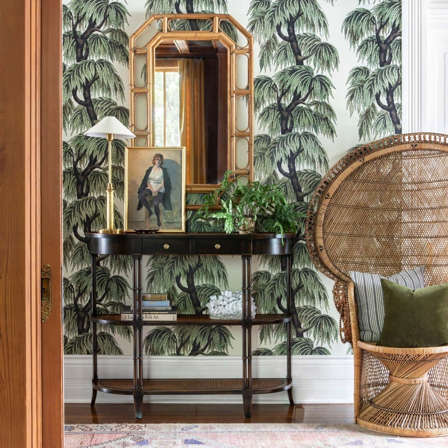 BABYLON Wallpaper Papyrus / Willow in 2020 House of