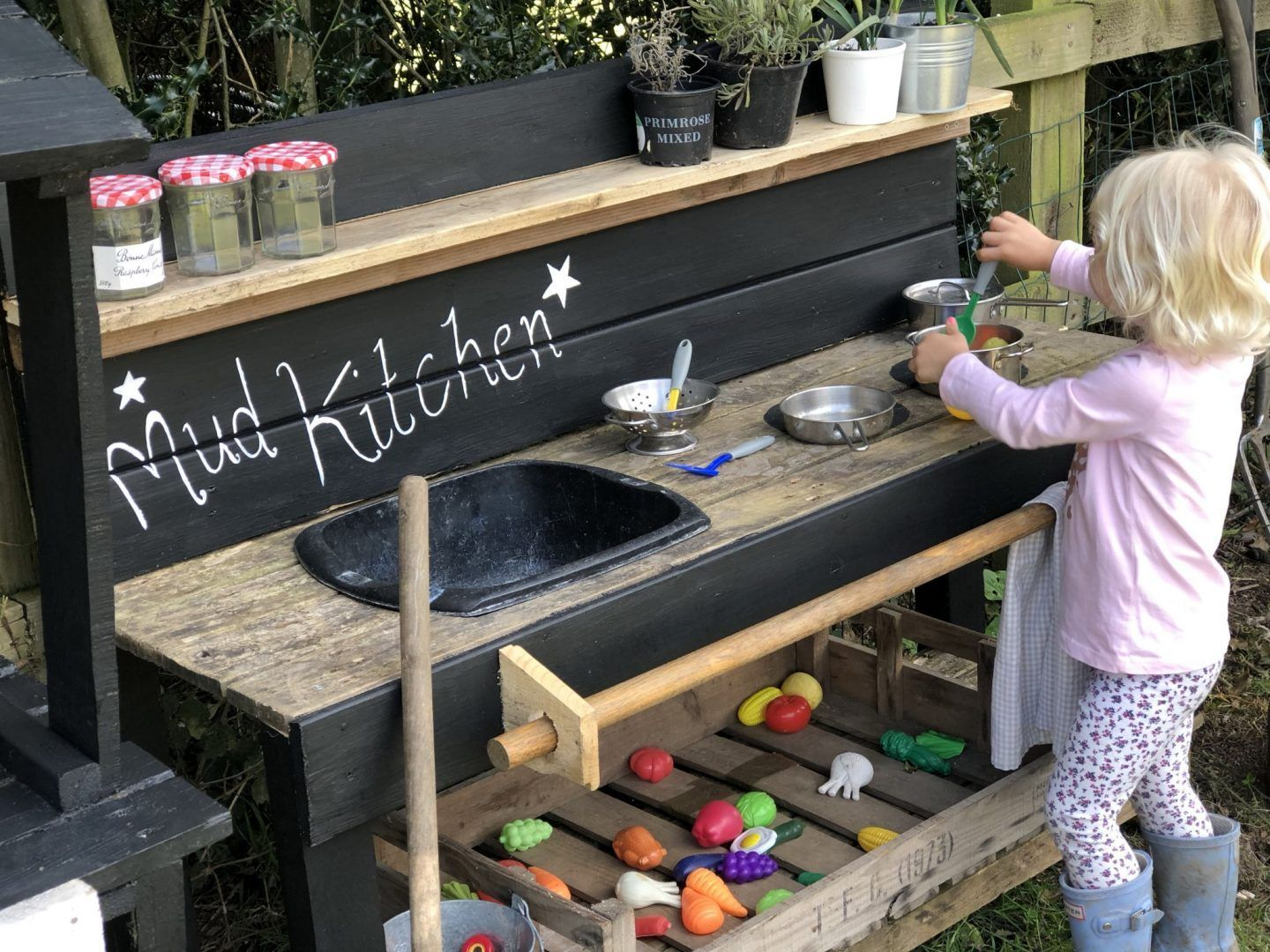 Diy Mud Kitchen Just A Little Build Outdoor Play Areas Outdoor Play Areas Outdoor Play Spaces Outdoor Play S Diy Mud Kitchen Mud Kitchen Mud Kitchen For Kids