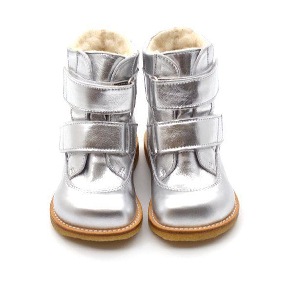 62c2509a893 Angulus TEX-støvle m. velcro sølv | Kids fashion | Kids fashion ...
