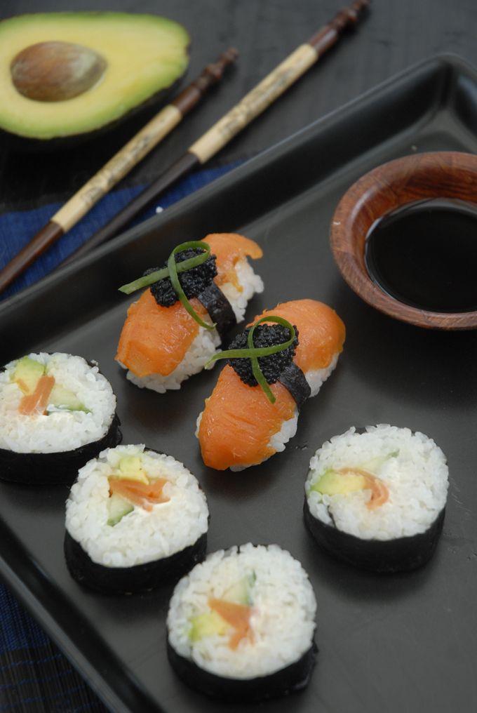 sushi fisk