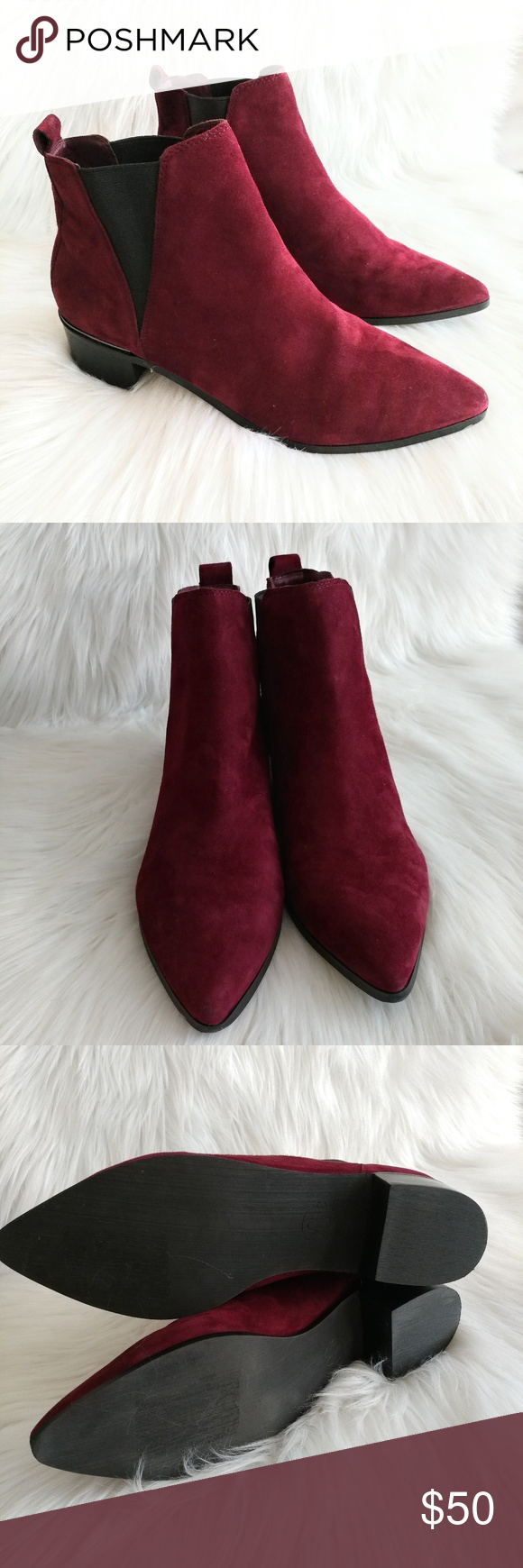 1818c9f71a8 New Treasure  amp  Bond Easton Chelsea bootie Suede svelte Chelsea boot  features a trend-