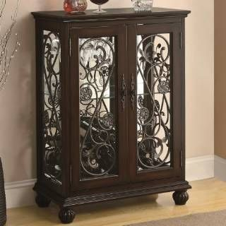 Check out the Coaster Furniture 104023 2 Door Wine Rack with ... on