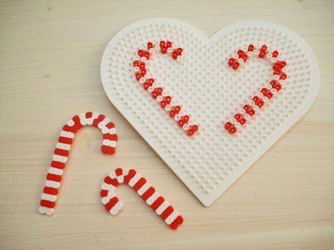 Christbaumschmuck aus Bügelperlen – DIY – ErdbeerLila #weihnachtenbastelnmitkindern