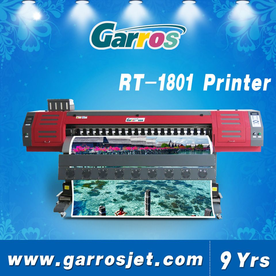 China Best Garros Eco Solvent Printer Roll To Roll Inkjet Printer With Dx5 Dx7 Printhead Flex Printing Machine Printer Flex Solvent