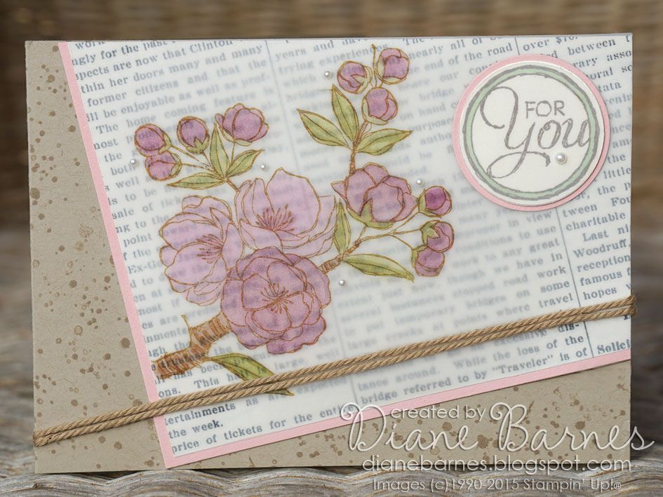 All occasions card using Stampin Up Indescribable Gift & Chalk Talk stamp. JAI 252 sketch challenge. By Di Barnes #colourmehappy