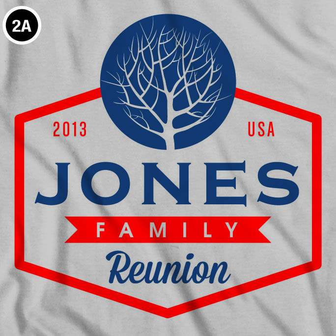 family reunion t shirts are a great keepsake to remember your event