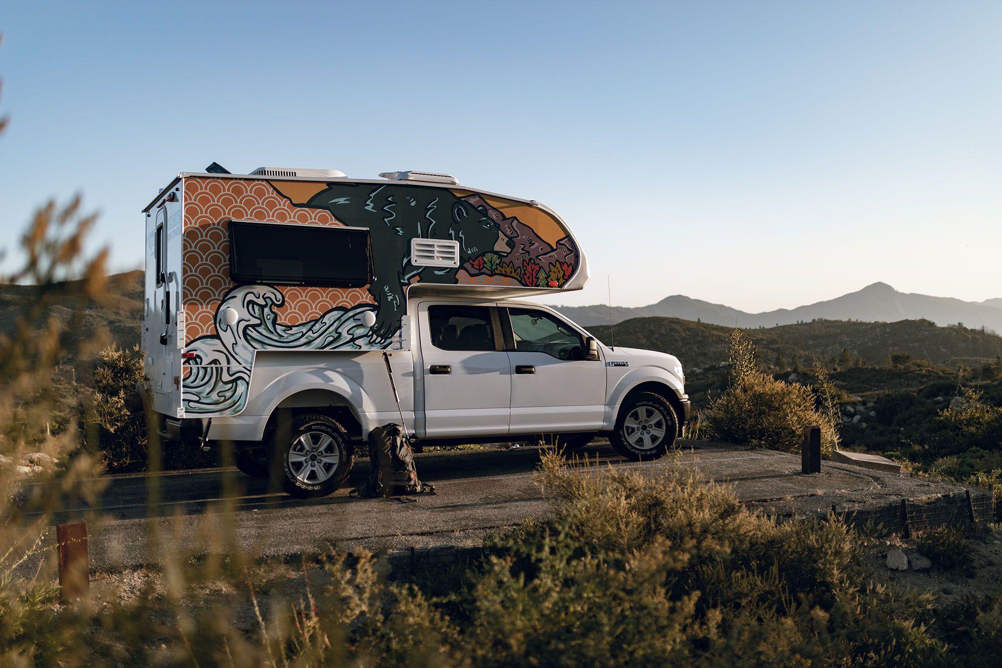 Newport Camper 3 Berth Truck Camper Rentals Truck Camper