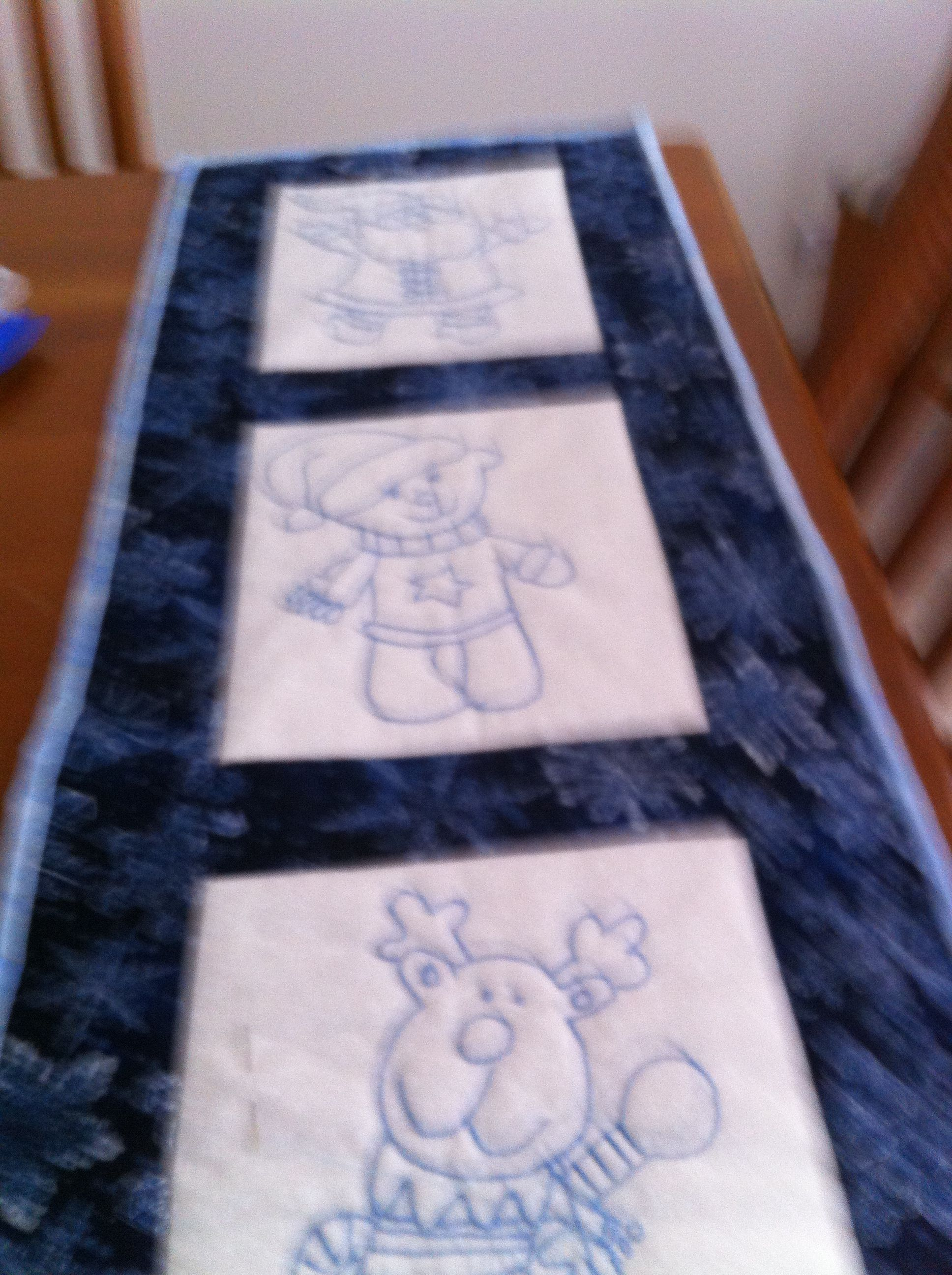 Xmas table runner Celebrations Pinterest Runners Xmas and Tables