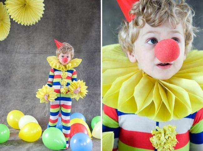Carnaval Los Mejores Disfraces Diy Para Niños Disfraz De Payaso Casero Disfraz De Payaso Como Hacer Disfraces