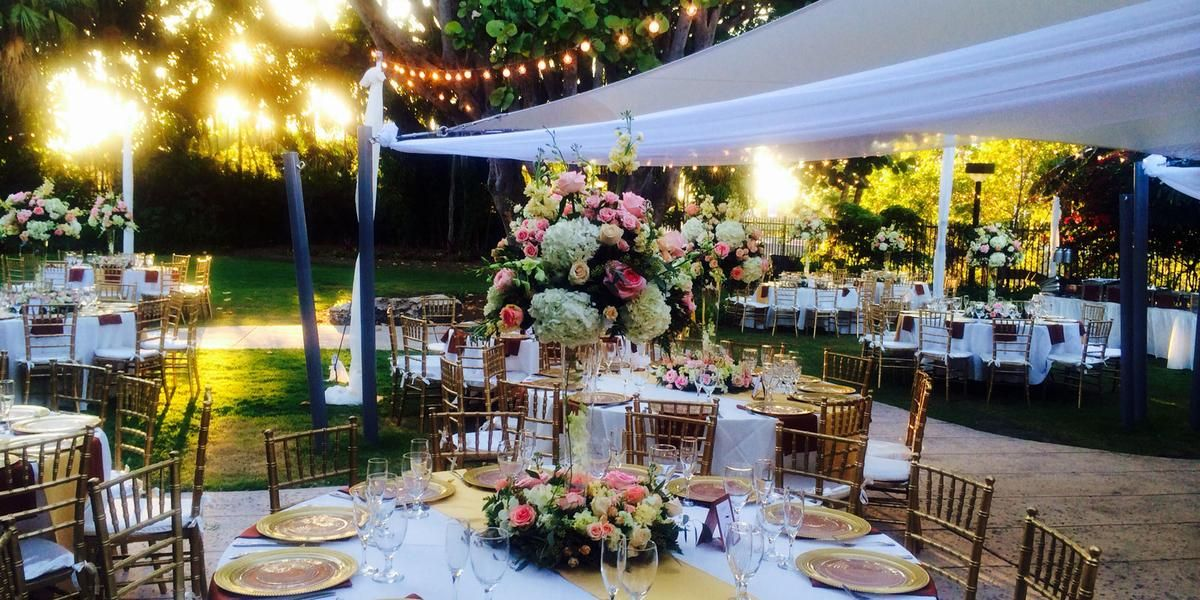 Miami Beach Botanical Gardens Weddings Price Out And Compare