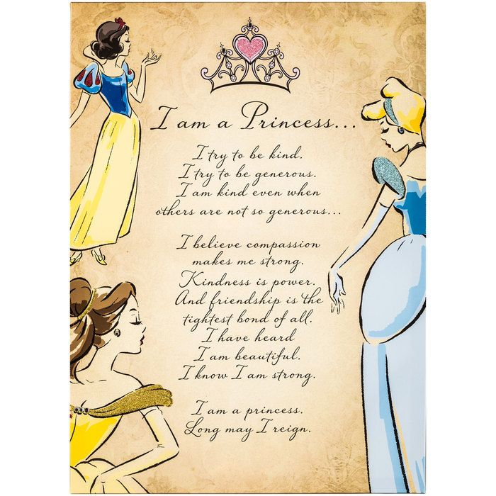 I Am A Princess Canvas Wall Art Princess Wall Art Princess Canvas Wall Canvas