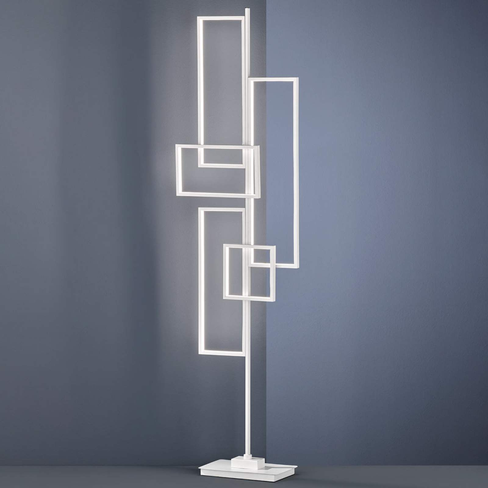 Moderne Stehlampe Tucson Von Trio Lighting Weiss Led Stehlampe Stehlampe Und Lampen