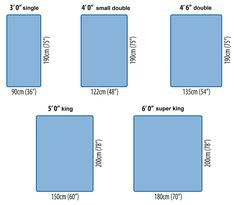 Bed sizes are confusing mas also ikea mattress chart to compare differences in measurements rh pinterest