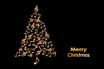 Christmas Greeting 2020 Music music christmas tree   Google Search   Christmas cards, Card