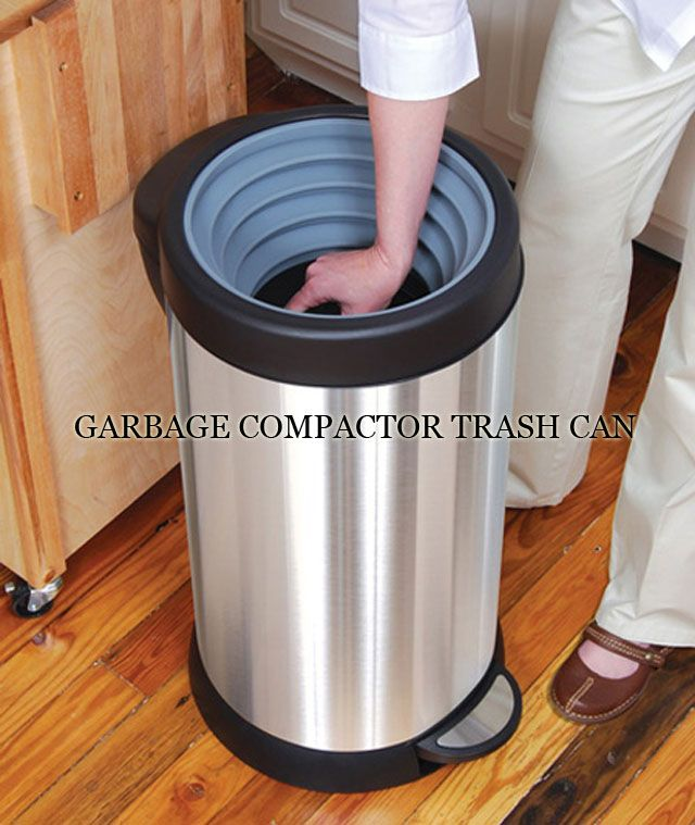 Garbage Compactor Trash Can...and A Bunch Of Other Amazeballs Things I Want