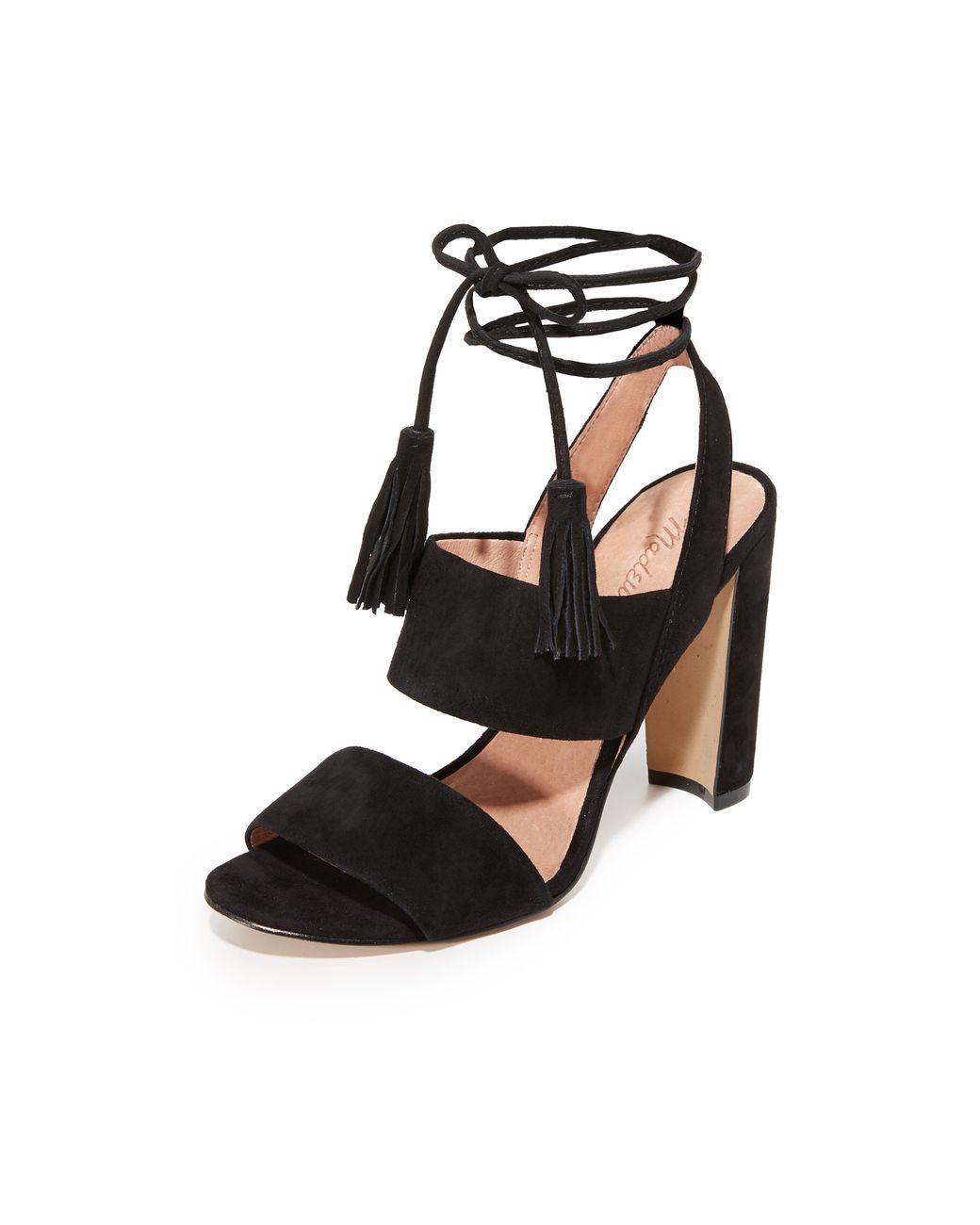 fcaeecd828c57a Women s Black Octavia Tassel Sandals