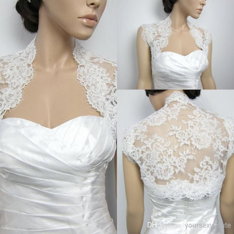 Free shipping, $21.99/Piece:buy wholesale Elegant Custom Made High Quality Cap Sleeve White Bridal Shawls Bolero Lace Wedding Jackets / wrap from DHgate.com,get worldwide delivery and buyer protection service.